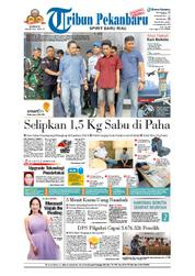 Tribun Pekanbaru Cover 18 March 2018