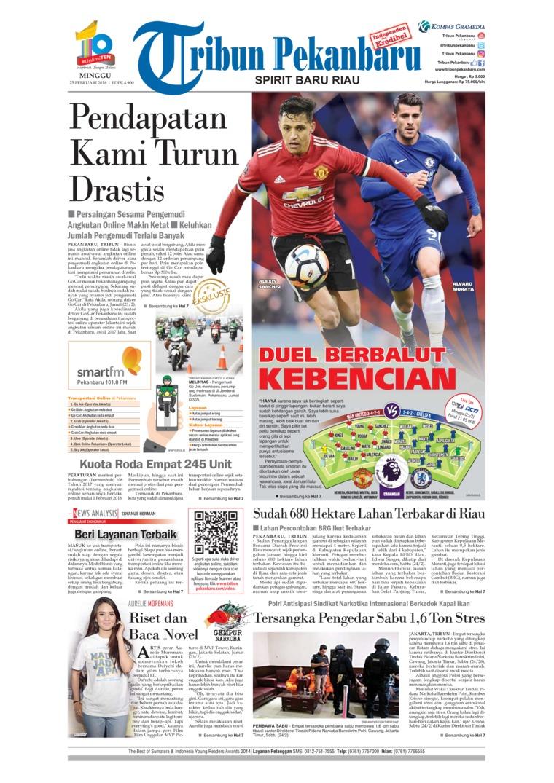 Koran Digital Tribun Pekanbaru 25 Februari 2018