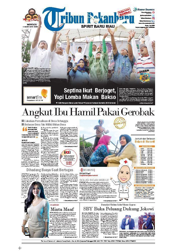 Koran Digital Tribun Pekanbaru 11 Maret 2018
