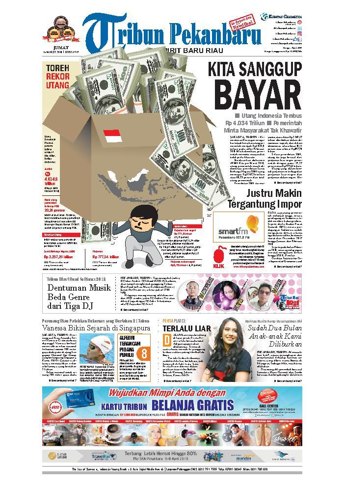 Koran Digital Tribun Pekanbaru 16 Maret 2018