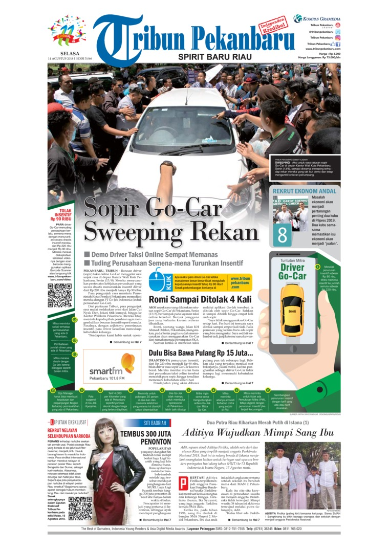 Koran Digital Tribun Pekanbaru 14 Agustus 2018