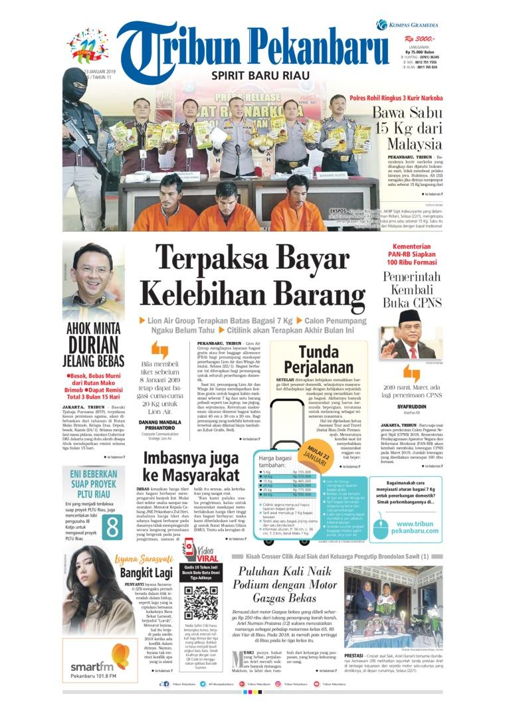 Koran Digital Tribun Pekanbaru 23 Januari 2019