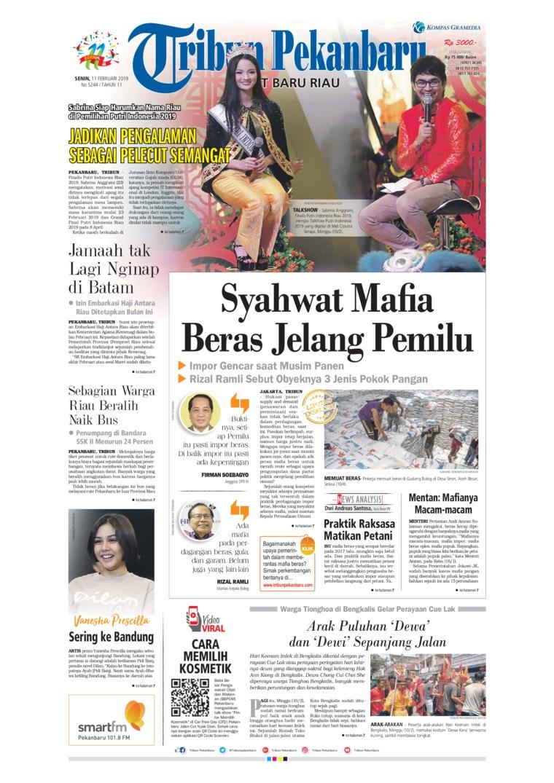 Koran Digital Tribun Pekanbaru 11 Februari 2019