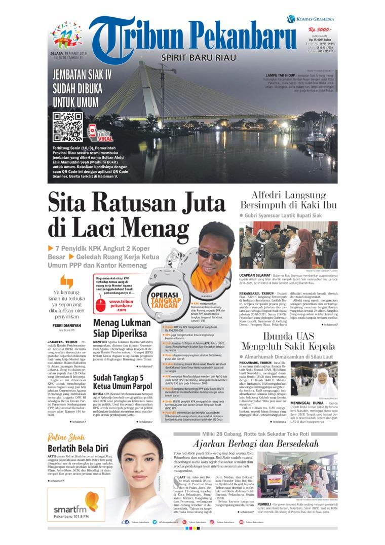Koran Digital Tribun Pekanbaru 19 Maret 2019