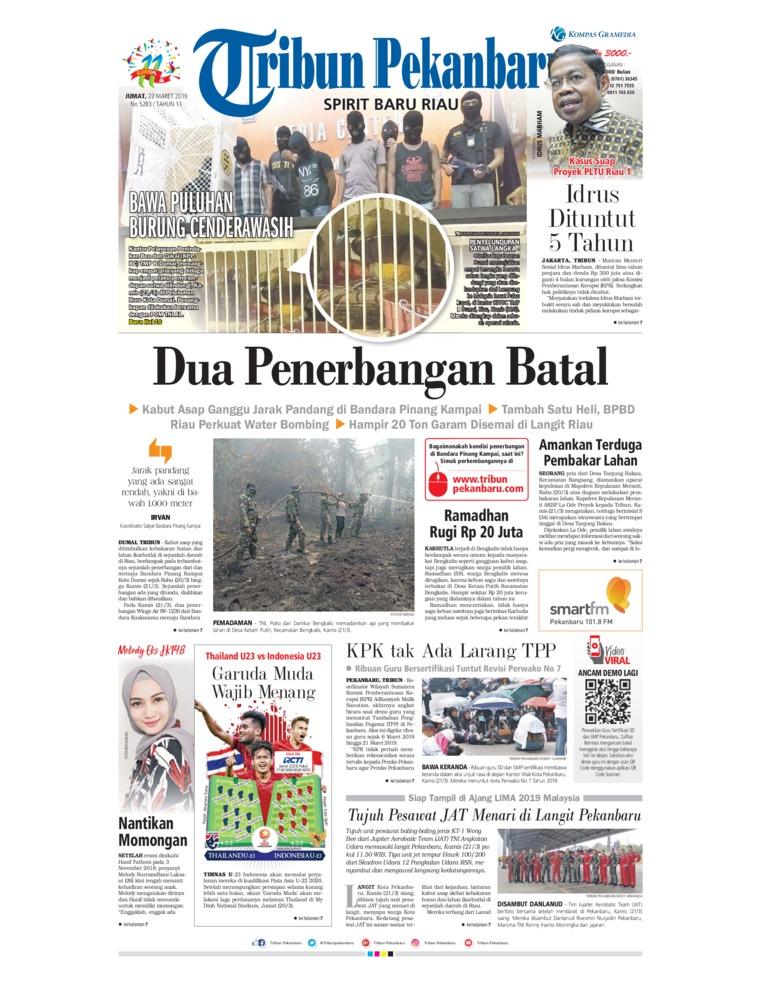Koran Digital Tribun Pekanbaru 22 Maret 2019