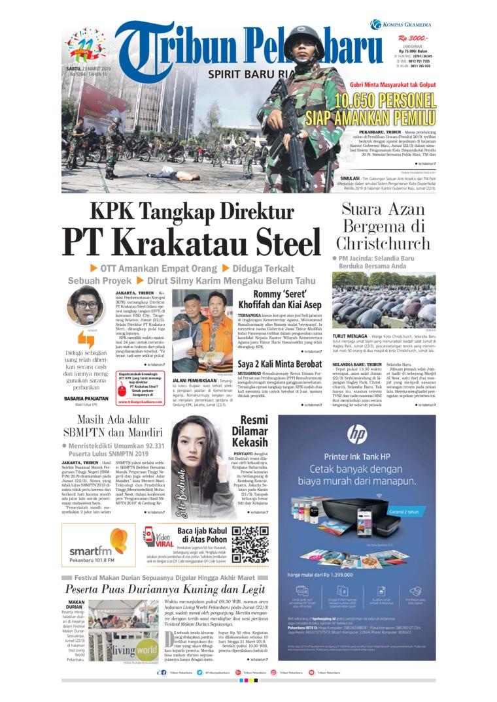 Koran Digital Tribun Pekanbaru 23 Maret 2019