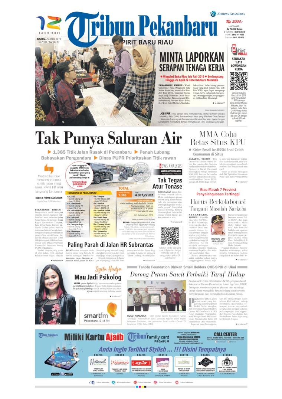 Koran Digital Tribun Pekanbaru 25 April 2019