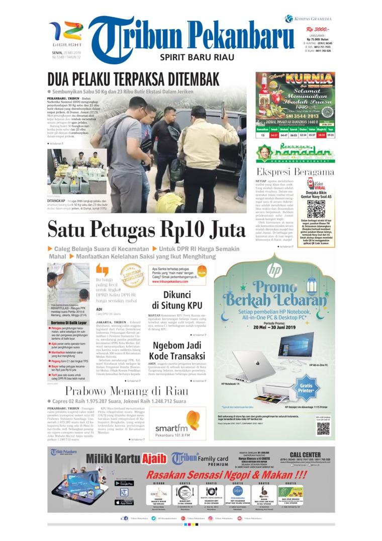 Tribun Pekanbaru Digital Newspaper 20 May 2019