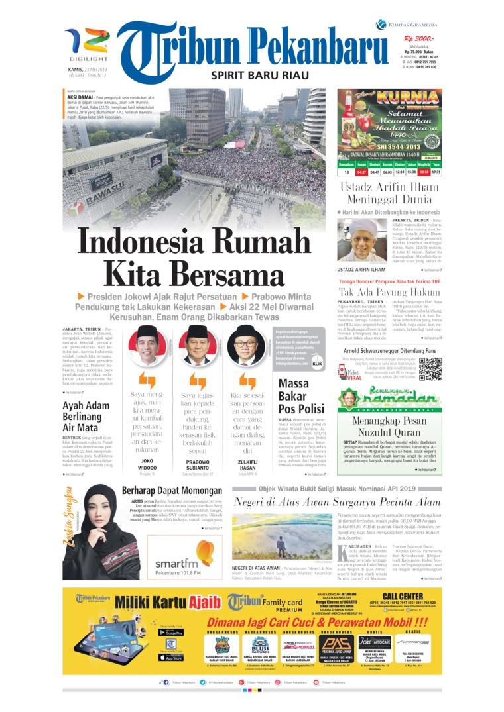 Tribun Pekanbaru Digital Newspaper 23 May 2019