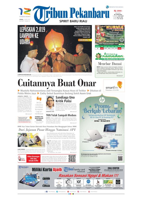 Koran Digital Tribun Pekanbaru 27 Mei 2019