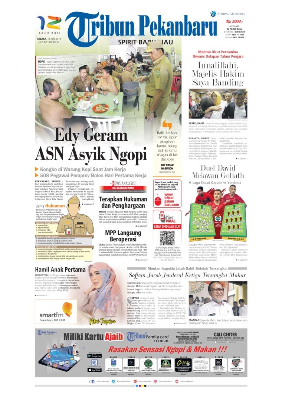 Koran Digital Tribun Pekanbaru 11 Juni 2019