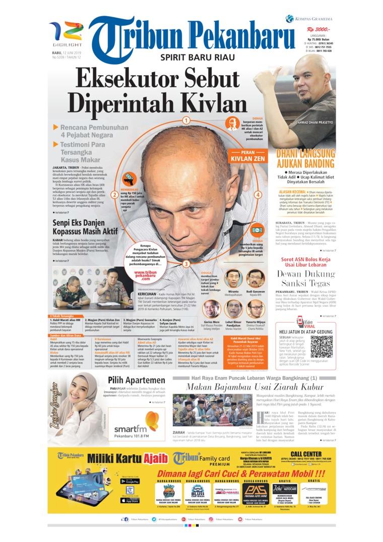 Koran Digital Tribun Pekanbaru 12 Juni 2019