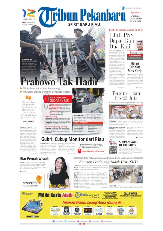 Koran Digital Tribun Pekanbaru 14 Juni 2019
