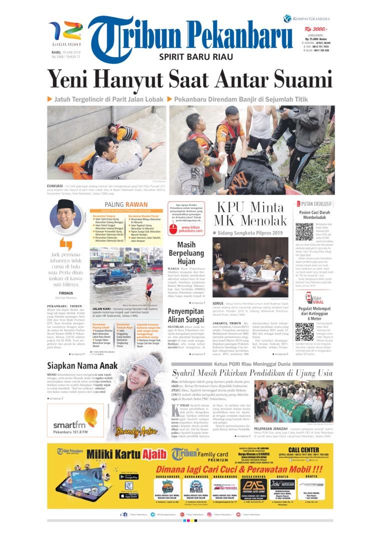 Koran Digital Tribun Pekanbaru 19 Juni 2019