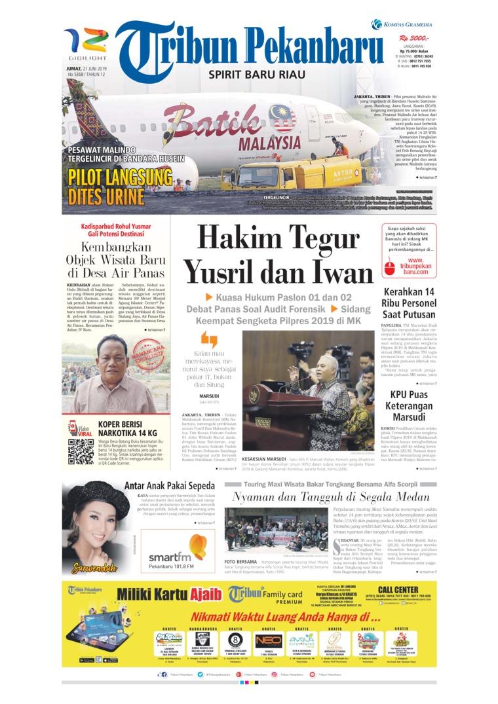 Koran Digital Tribun Pekanbaru 21 Juni 2019