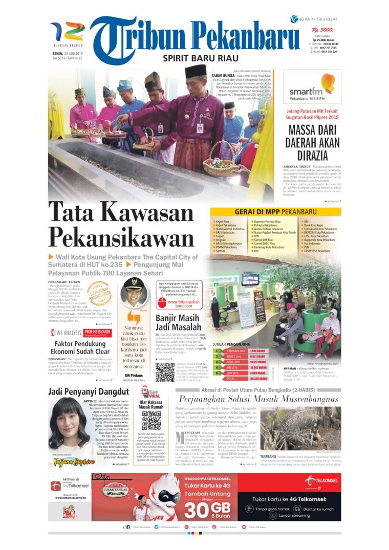 Koran Digital Tribun Pekanbaru 24 Juni 2019