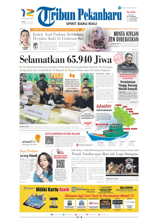 Koran Digital Tribun Pekanbaru 17 Juli 2019