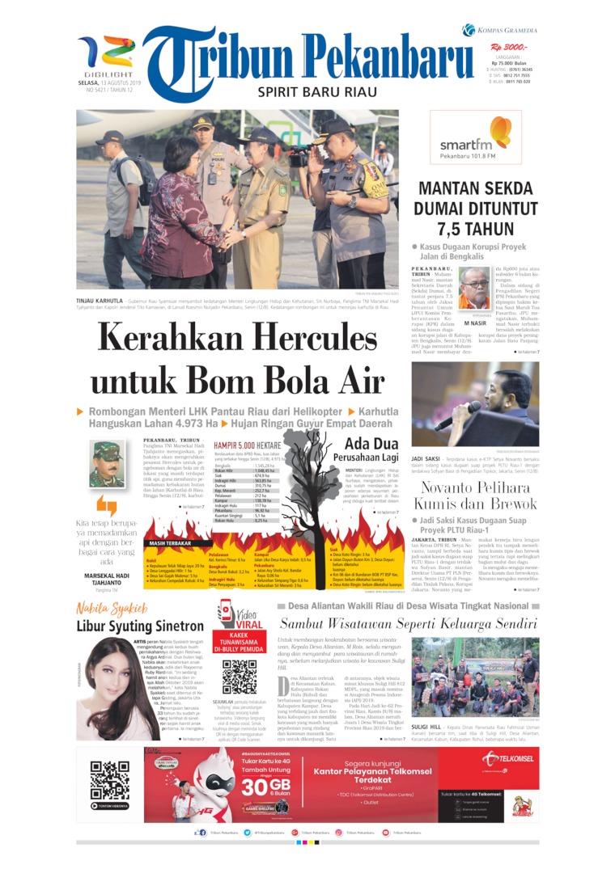 Koran Digital Tribun Pekanbaru 13 Agustus 2019