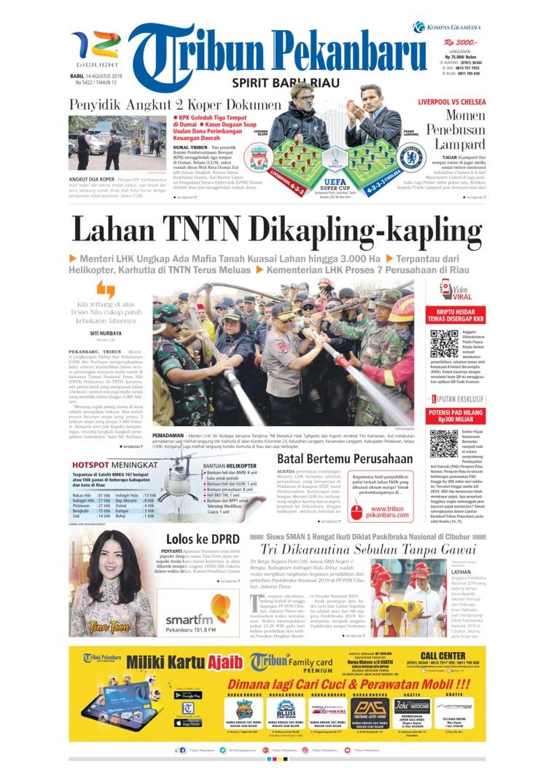 Koran Digital Tribun Pekanbaru 14 Agustus 2019