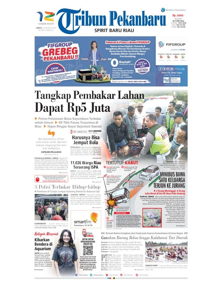 Koran Digital Tribun Pekanbaru 16 Agustus 2019