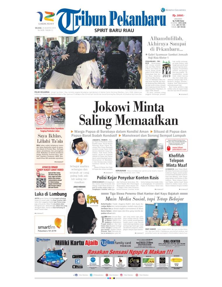 Koran Digital Tribun Pekanbaru 20 Agustus 2019