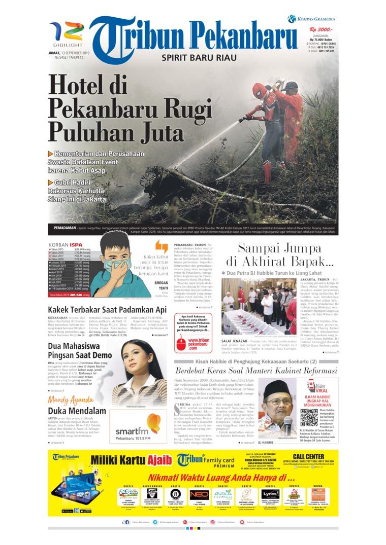 Koran Digital Tribun Pekanbaru 13 September 2019