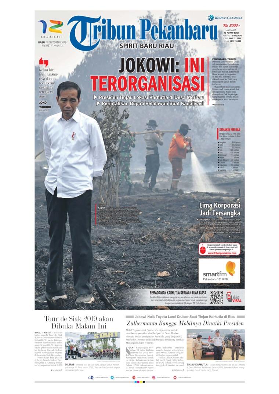 Koran Digital Tribun Pekanbaru 18 September 2019