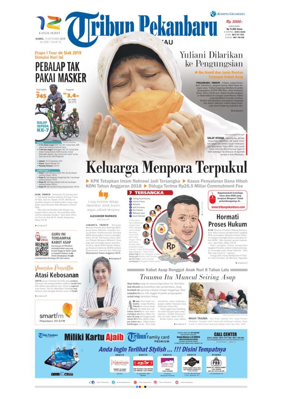Tribun Pekanbaru Digital Newspaper 19 September 2019