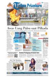Tribun Pekanbaru Cover 23 February 2018