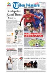Cover Tribun Pekanbaru 25 Februari 2018