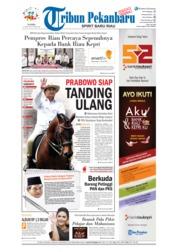 Cover Tribun Pekanbaru 12 April 2018