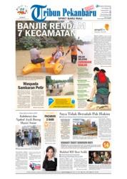 Cover Tribun Pekanbaru 13 April 2018