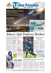 Cover Tribun Pekanbaru 15 April 2018