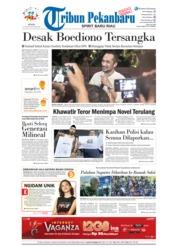 Cover Tribun Pekanbaru 16 April 2018