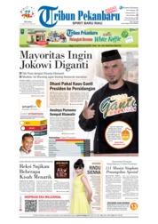 Cover Tribun Pekanbaru 17 April 2018