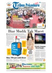 Cover Tribun Pekanbaru 19 April 2018