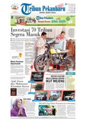 Cover Tribun Pekanbaru 20 April 2018