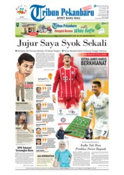 Cover Tribun Pekanbaru 25 April 2018