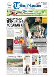Cover Tribun Pekanbaru 26 April 2018