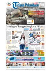 Cover Tribun Pekanbaru 10 Juli 2018