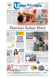 Cover Tribun Pekanbaru 13 Juli 2018