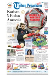 Cover Tribun Pekanbaru 15 Juli 2018