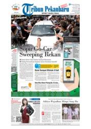 Cover Tribun Pekanbaru 14 Agustus 2018