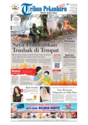 Cover Tribun Pekanbaru 17 Agustus 2018
