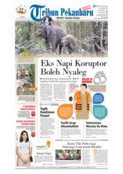 Cover Tribun Pekanbaru 15 September 2018