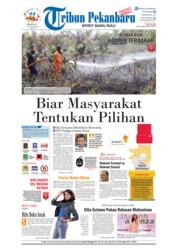 Cover Tribun Pekanbaru 16 September 2018