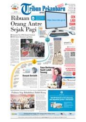 Cover Tribun Pekanbaru 17 September 2018