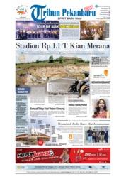 Cover Tribun Pekanbaru 18 September 2018