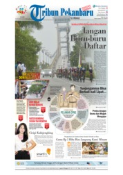 Cover Tribun Pekanbaru 19 September 2018