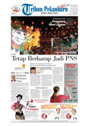 Cover Tribun Pekanbaru 23 September 2018